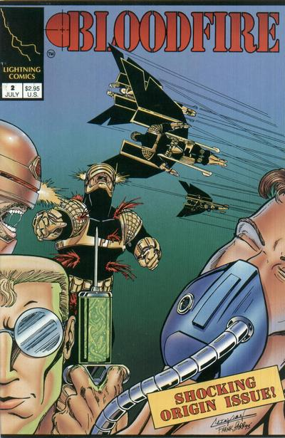 Cover for Bloodfire (Lightning Comics [1990s], 1993 series) #2