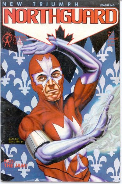 Cover for New Triumph (featuring Northguard) (Matrix Graphic Series, 1984 series) #2
