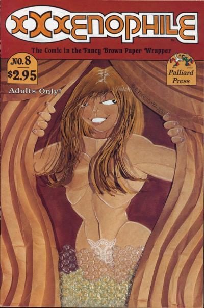 Cover for Xxxenophile (Palliard Press, 1989 series) #8