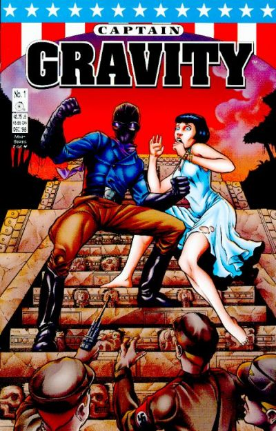 Cover for Captain Gravity (Penny-Farthing Press, 1998 series) #1