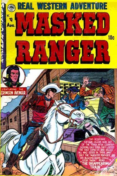 Cover for Masked Ranger (Premier Magazines, 1954 series) #3