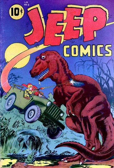 Cover for Jeep Comics (Spotlight Publishers [1940s], 1948 series) #3