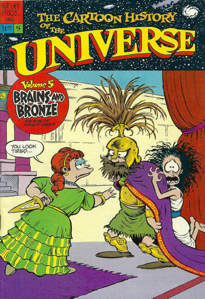 Cover for The Cartoon History of the Universe (Rip Off Press, 1978 series) #5 [1st Print]