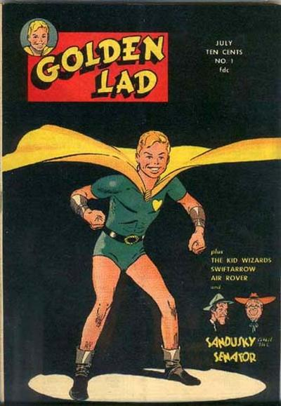 Cover for Golden Lad (Spark Publications, 1945 series) #1