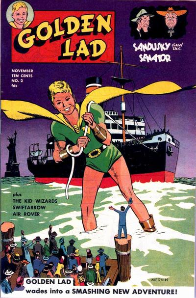 Cover for Golden Lad (Spark Publications, 1945 series) #2