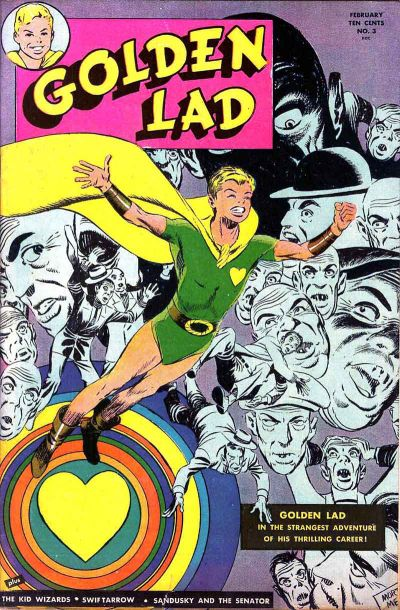 Cover for Golden Lad (Spark Publications, 1945 series) #3
