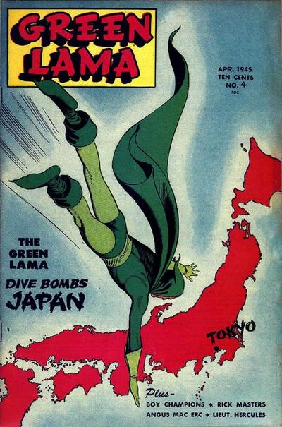 Cover for Green Lama (Spark Publications, 1944 series) #4