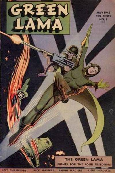 Cover for Green Lama (Spark Publications, 1944 series) #5