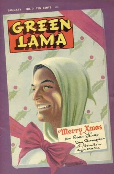 Cover for Green Lama (Spark Publications, 1944 series) #7