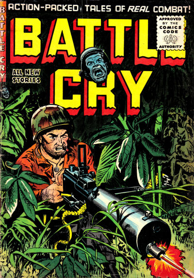 Cover for Battle Cry (Stanley Morse, 1952 series) #20