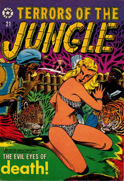 Cover for Terrors of the Jungle (Star Publications, 1952 series) #21