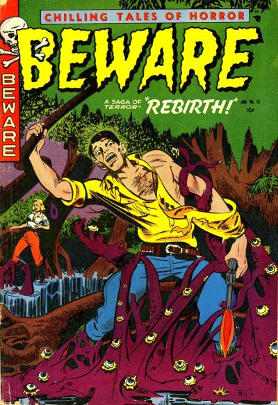 Cover for Beware (Trojan Magazines, 1953 series) #13 [1]
