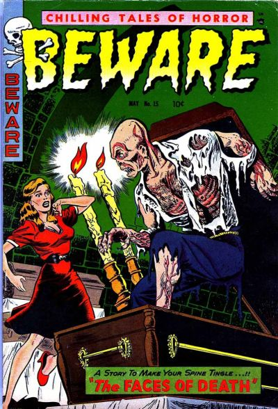 Cover for Beware (Trojan Magazines, 1953 series) #15 [3]