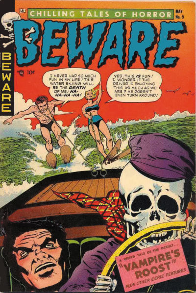 Cover for Beware (Trojan Magazines, 1953 series) #9
