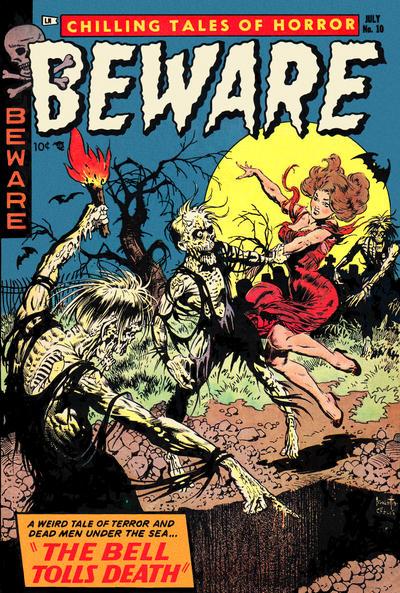 Cover for Beware (Trojan Magazines, 1953 series) #10