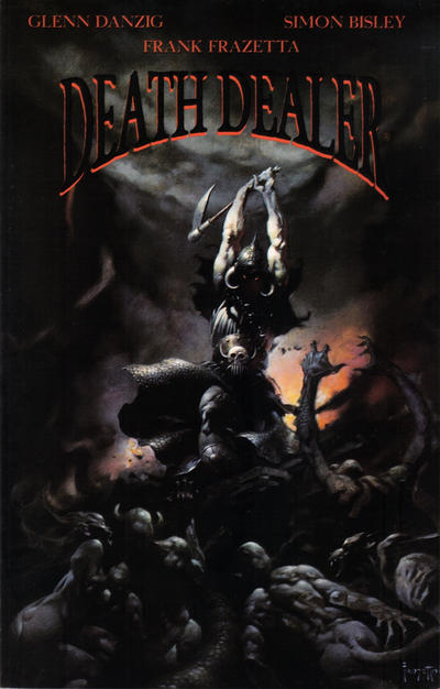 Cover for Death Dealer (Verotik, 1995 series) #1 [i]