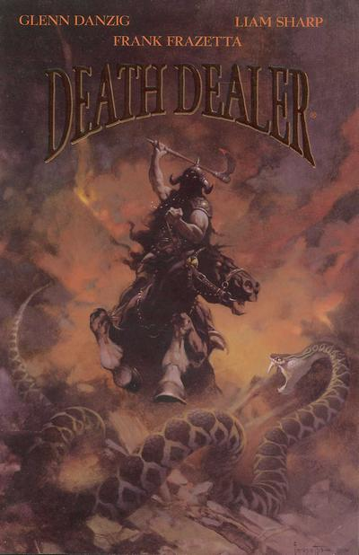 Cover for Death Dealer (Verotik, 1995 series) #2