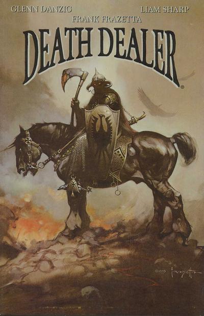 Cover for Death Dealer (Verotik, 1995 series) #3