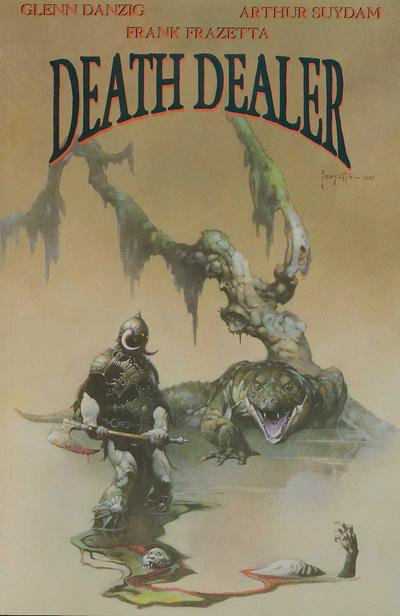 Cover for Death Dealer (Verotik, 1995 series) #4