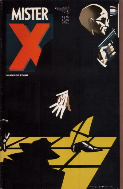 Cover for Mister X (Vortex, 1984 series) #4