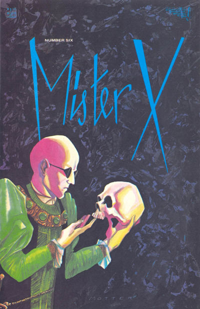 Cover for Mister X (Vortex, 1984 series) #6