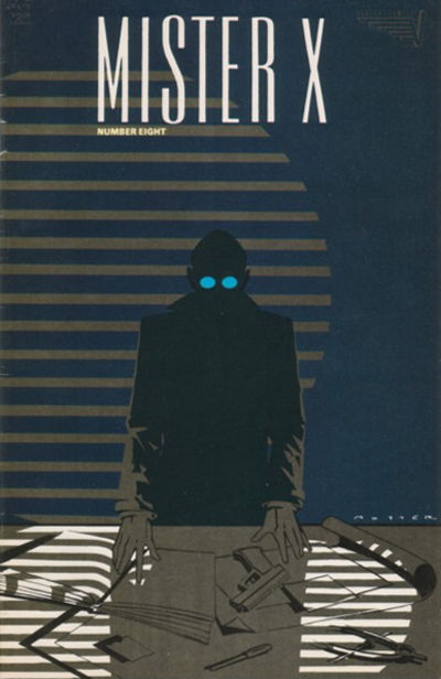 Cover for Mister X (Vortex, 1984 series) #8