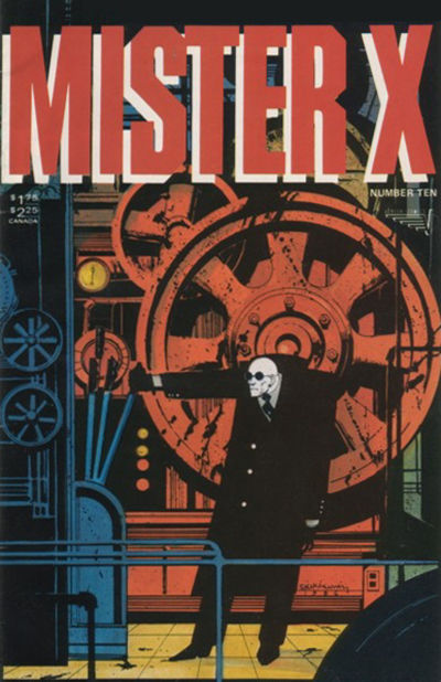 Cover for Mister X (Vortex, 1984 series) #10