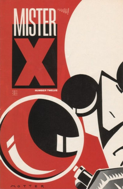 Cover for Mister X (Vortex, 1984 series) #12