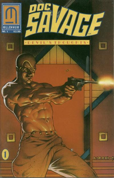 Cover for Doc Savage: Devil's Thoughts (Millennium Publications, 1992 series) #1
