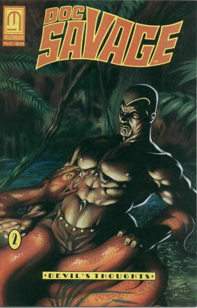Cover for Doc Savage: Devil's Thoughts (Millennium Publications, 1992 series) #2