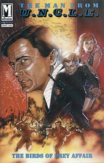Cover for The Man from U.N.C.L.E. The Birds of Prey Affair (Millennium Publications, 1993 series) #1