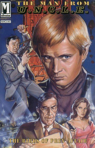 Cover for The Man from U.N.C.L.E. The Birds of Prey Affair (Millennium Publications, 1993 series) #2