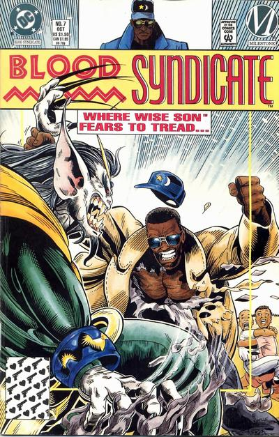 Cover for Blood Syndicate (DC, 1993 series) #7 [Direct]