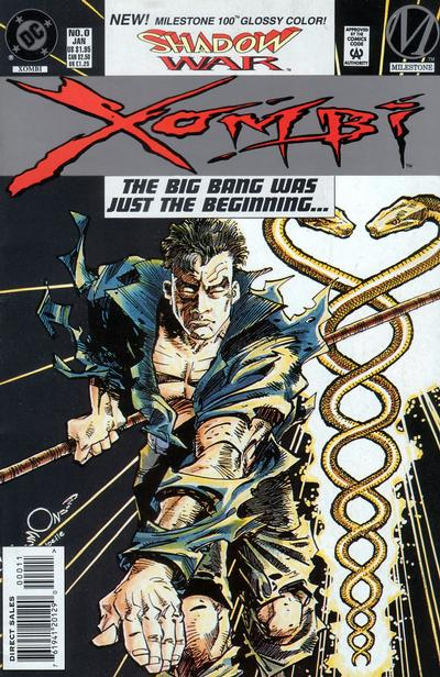 Cover for Xombi (DC, 1994 series) #0