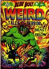 Cover for Blue Bolt Weird Tales of Terror (Star Publications, 1951 series) #112
