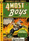 Cover for Four-Most Boys Comics (Star Publications, 1949 series) #39