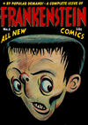Cover for Frankenstein (Prize, 1945 series) #1