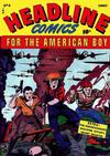 Cover for Headline Comics (Prize, 1943 series) #v1#4 (4)