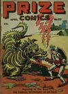 Cover for Prize Comics (Prize, 1940 series) #v5#4 (52)