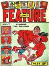 Cover for Feature Comics (Quality Comics, 1939 series) #34