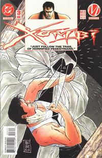 Cover for Xombi (DC, 1994 series) #3