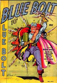 Cover Thumbnail for Blue Bolt (Novelty / Premium / Curtis, 1940 series) #v1#2 [2]