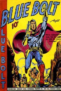 Cover Thumbnail for Blue Bolt (Novelty / Premium / Curtis, 1940 series) #v1#3 [3]