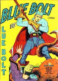 Cover Thumbnail for Blue Bolt (Novelty / Premium / Curtis, 1940 series) #v1#5 [5]