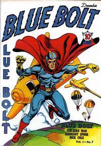 Cover Thumbnail for Blue Bolt (Novelty / Premium / Curtis, 1940 series) #v1#7 [7]
