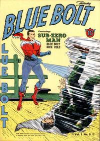 Cover Thumbnail for Blue Bolt (Novelty / Premium / Curtis, 1940 series) #v1#9 [9]