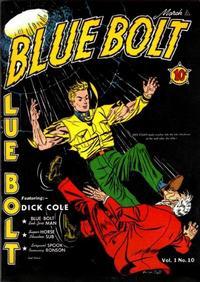 Cover Thumbnail for Blue Bolt (Novelty / Premium / Curtis, 1940 series) #v1#10 [10]