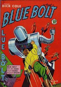 Cover Thumbnail for Blue Bolt (Novelty / Premium / Curtis, 1940 series) #v1#11 [11]
