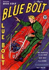 Cover Thumbnail for Blue Bolt (Novelty / Premium / Curtis, 1940 series) #v1#12 [12]
