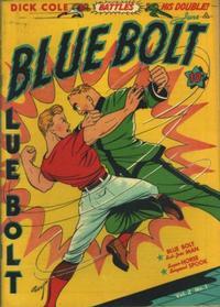 Cover Thumbnail for Blue Bolt (Novelty / Premium / Curtis, 1940 series) #v2#1 [13]